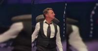 Luis Miguel es abucheado en su último show y lo acusan de subirse drogado al escenario