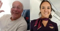 Amor de padre: hombre compra seis boletos de avión diferentes para pasar la Navidad con su hija azafata