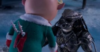 """El """"perturbador"""" corto navideño que junta a Depredador y Santa Claus"""