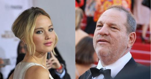 """Harvey Weinstein sobre Jennifer Lawrence: """"Me acosté con ella y ahora tiene un Oscar"""""""