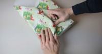 La ingeniosa técnica japonesa para envolver regalos sin cinta adhesiva en menos de 2 minutos