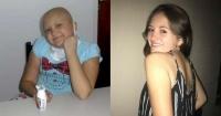 La joven que le ganó al cáncer y que conmueve a la web con su #10yearschallenge