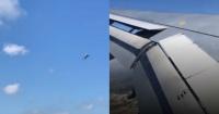 El sorprendente video de un avión luchando contra el viento en Gibraltar