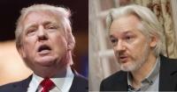 """El cambio de Trump tras el arresto de Assange: de afirmar que """"ama"""" WikiLeaks a """"no es asunto mío"""""""