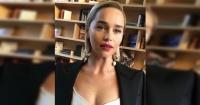 Las impactantes fotos de Emilia Clarke tras sufrir dos aneurismas cerebrales